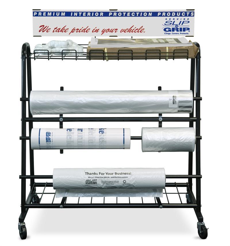 Paper Floor Mat Dispenser: Deluxe Floor Dispensing Stand