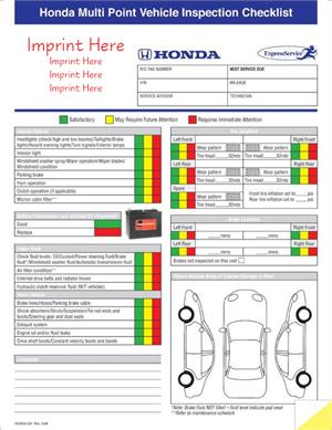 Honda multi point inspection form spiritdancerdesigns Images