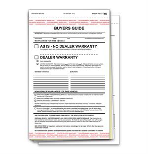 Buyers Guide - Three Part Form