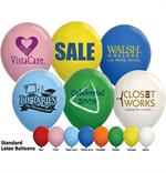 17 Inch Custom Imprinted Balloons (1,000)