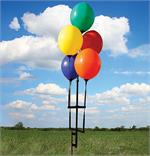 Reusable Balloon Ground Pole Kits For Five Balloons