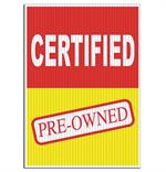 Jumbo Underhood Signs - Certified Pre-Owned