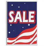Jumbo Underhood Signs - Patriotic Sale