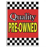 Jumbo Underhood Signs - Quality Pre-Owned