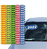 Oval Model Year Stickers (2005-2021)