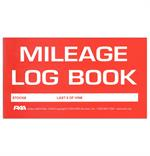 Front Cover Of The  Mileage Log Book for Demonstrators