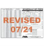 MV Schedule of Fees Poster 07/21