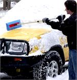 Easy Snow Removal From Vehicles