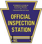 Official Inspection Station Keystone Signage