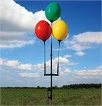 Resable Balloon Ground Pole Kit for Three Balloons
